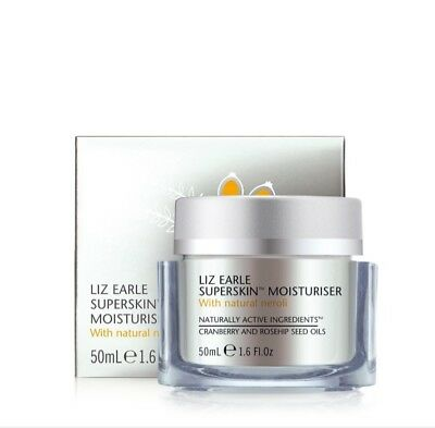 Liz Earle Superskin Mosturizer With Natural Neroli 50 ml new with box fresh