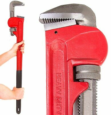 "NEILSEN Premium Quality 36"" Monkey Wrench, 36"" Pipe Wrench, Extra Large Wrench"
