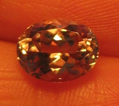 20.44Cts Flawless Natural Loose Gemstone Cert Color Change Diaspore-Watch Video
