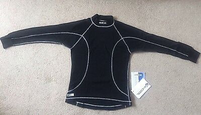 NEW sparco x-cool nomex Fia 8856-2000 racing Top, Size M Slim Fit