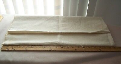 Vtg Antique 1800's Natural Cotton/Linen Homespun Fabric Lancaster Co. PA.