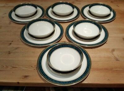 Royal Doulton Biltmore Dinner Set - Plates & Bowls