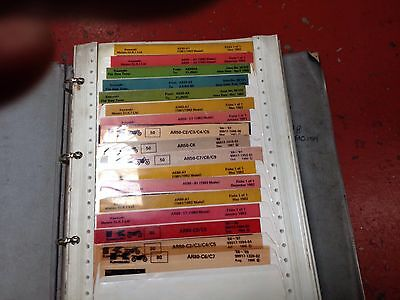 KAWASAKI PARTS MICROFICHE , 70'S 80's 90's APROX 100 PLEASE SEE PHOTO'S