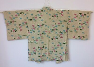 Authentic Japanese women's haori jacket for kimono, M, Japan import (AD1767)