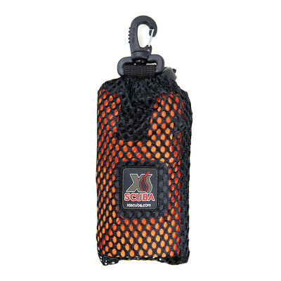 """XS SCUBA 72"""" Oral Inflate Safety Sausage with Clip On Mesh Bag Surface Marker"""