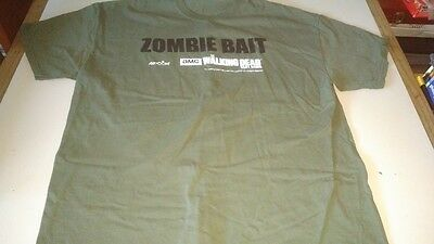 RARE AMC WALKING DEAD T-SHIRT walking dead slot machine promotion RARE