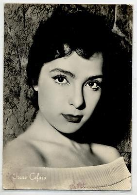 IRENE CEFARO Cinema Star Attrice 1960 ITALY Real Photo PC Vera foto