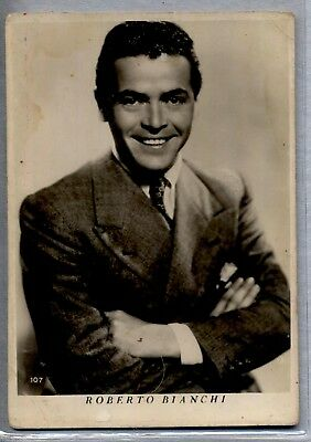 ROBERTO BIANCHI Attore Cinema PC Film Star Cinecittà Circa 1940s