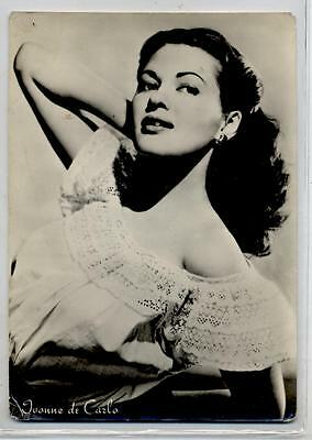 IVONNE DE CARLO Cinema Star 1960 ITALY Real Photo PC Vera foto Attrice