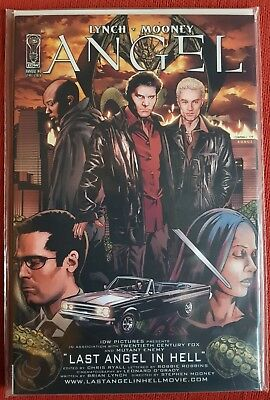 IDW ANGEL Annual #1 Last Angel in Hell Cover B new B+B BUFFY COMIC VAMPIRE SPIKE