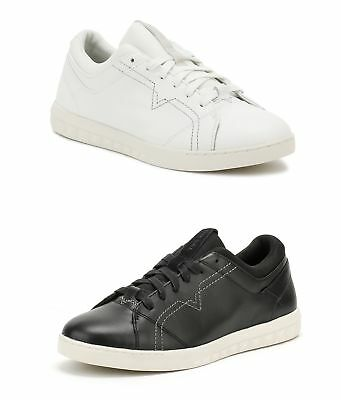 Diesel Mens White or Black S-Studdzy Lace Trainers Sport Casual Shoes