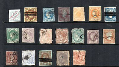 Spain - Small Collection of Early Issues