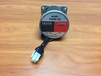 Vexta PH296-02, 2-Phase, 1.8 Degree Stepping Motor