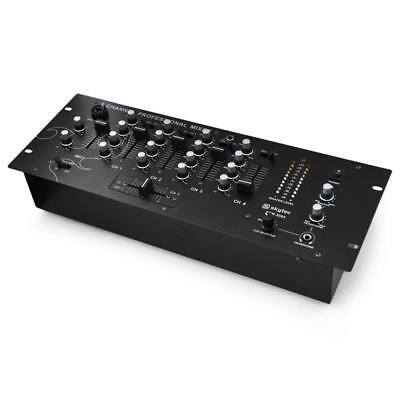 Skytec Stm3004 4 Channel Dj Mixer Disco Stage Mixing Desk Console