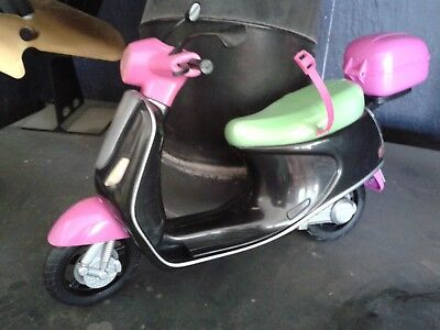 TWILIGHT TEENS black, pink and green moped