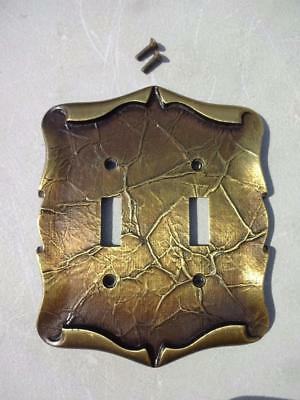 Amerock Carriage House Double Light Switch Plate Cover.w Original Screws.