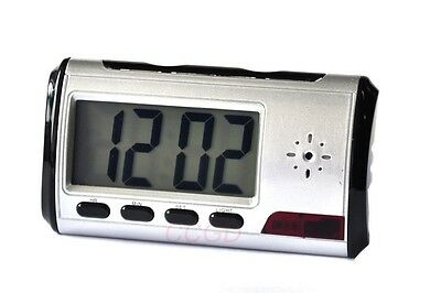 812 Metal clock Spy Camera Motion Alarm DVR/USB Video Audio Recorder Digital Cam