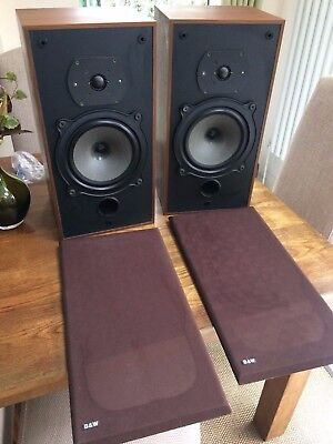 Vintage B&W DM10 Speakers - Fully Boxed, Ship Worlwide, Bowers & Wilkins