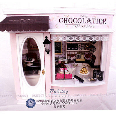 DIY Handcraft Miniature Dolls House My Little Chocolatier in Brussels Belgium