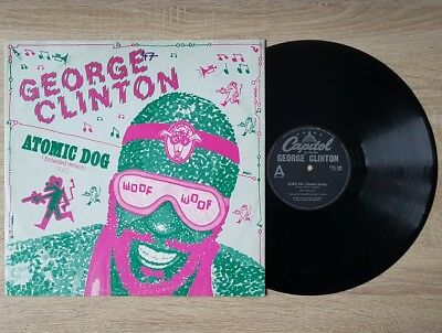 "George Clinton: Atomic Dog ~ Original 12"" Vinyl Single ~ 12CL280 UK (1983) ~ VG+"