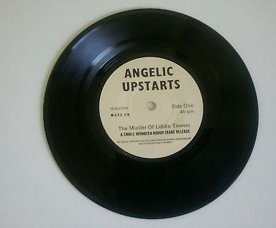 "The Murder Of Liddle Towers Angelic Upstarts UK 7"" vinyl single record"