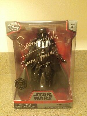 Spencer wilding Signed Star Wars Series 7 Die cast(PA COA)