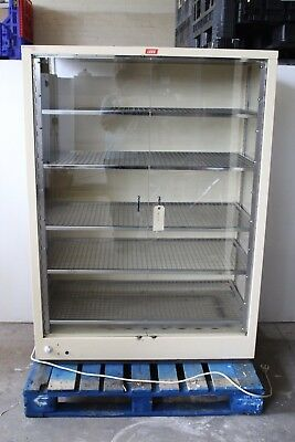 LEEC F1 Lab Laboratory Glassware Drying / Warming Cabinet Heated Oven 1000L