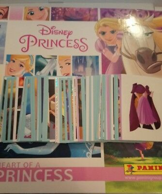 PANINI DISNEY 'HEART OF A PRINCESS' SINGLE STICKERS (2017) any 12 for £1.00