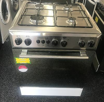 universal 60cm gas cooker cooker stainless steel