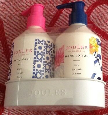 Joules Hand Care Gift Set Hand Lotion 250ml & Hand  Wash 250ml Birthday