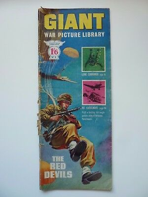 No. 1 GIANT WAR PICTURE LIBRARY, early edition, published 1964