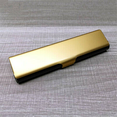Portable Hard Metal Aluminum Presbyopic Glasses Storage Case Protector Box