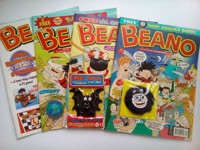 ATTENTION Beano Comic Collectors 2000s with Gifts - Vintage Collectable