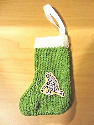 Mini Xmas Tree Decoration Hang Up Stocking - Bowling Team Female Lady Bowler