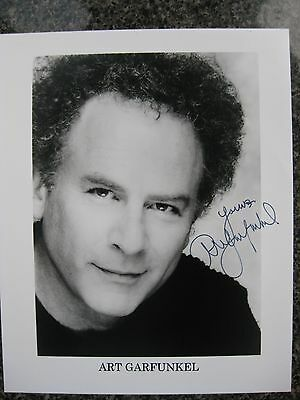 Art Garfunkel Autographed Photo, 8x10, Simon and Garfunkel