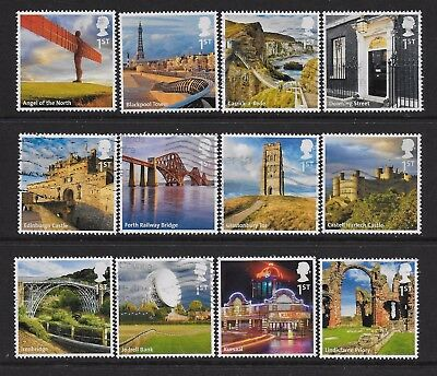 1) GB Stamps  2011 UK A-Z Full Set Good Used.