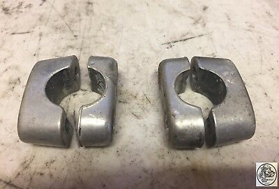 1975 Can Am Tnt 175 Handle Bar Clamps Riser Oem