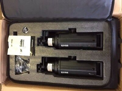 Bowens Gemini 2 X Gm1000 Pro Studio Light Kit In Case, Untested.