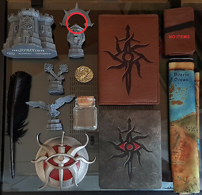 Dragon Age Inquisition - gadgets from Inquisitor's Collector's Edition