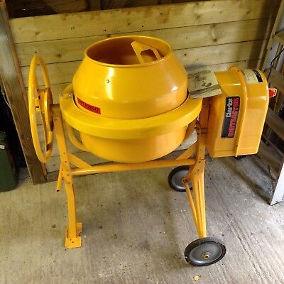 Clarke 450W 125 litre Electric Cement Mixer - CCM125C