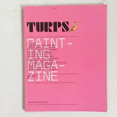 Turps Banana Painting Magazine Issue Four Sold out rare