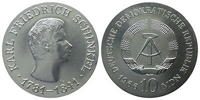 10 Mark Ddr 1966 Schinkel