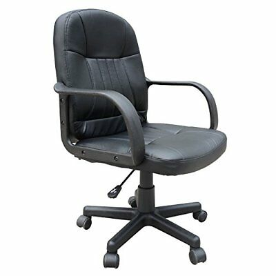 Homcom Swivel Executive Office Chair PU Leather Computer Desk Chair Office Furni