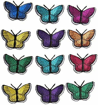 Simplicity Assorted Butterflies Multi-Pack Iron on Applique