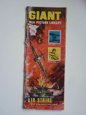 No. 4 GIANT WAR PICTURE LIBRARY, early edition, published 1964