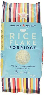 Delicious Alchemy Gluten and Dairy Free Rice Flake Porridge 450 g Pack of 3