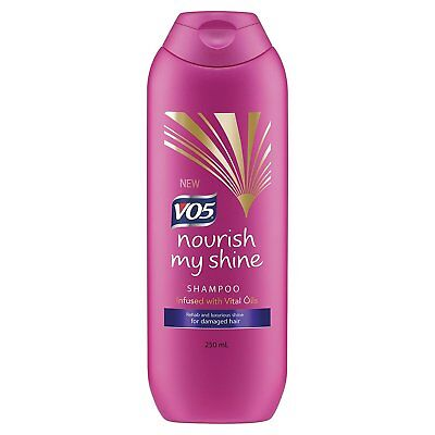 VO5 Nourish My Shine Shampoo 250 ml (Pack of 6)