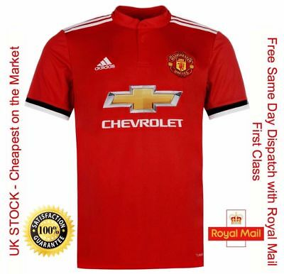 New Manchester United Home Football Jersey Shirt New Season 2017/18 - L - Large!