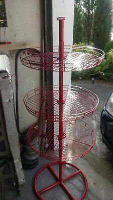 Vintage post office display spinning rack