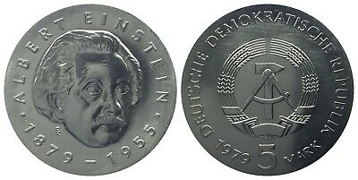 5 Mark Ddr 1979 Einstein
